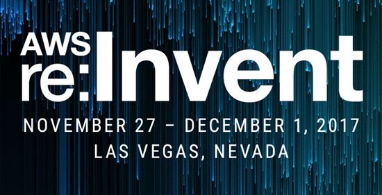 Are You Going to AWS re: Invent 2017? Let's Meet While We Are There!