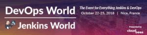 DevOps World Jenkins World banner image