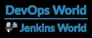 DevOps world Jenkins world logo blue large