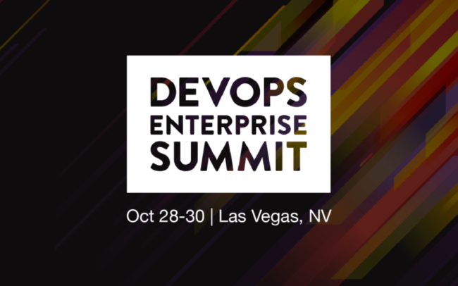 iTMethods Sponsors DevOps Enterprise Summit 2019 | October 28-30, 2019
