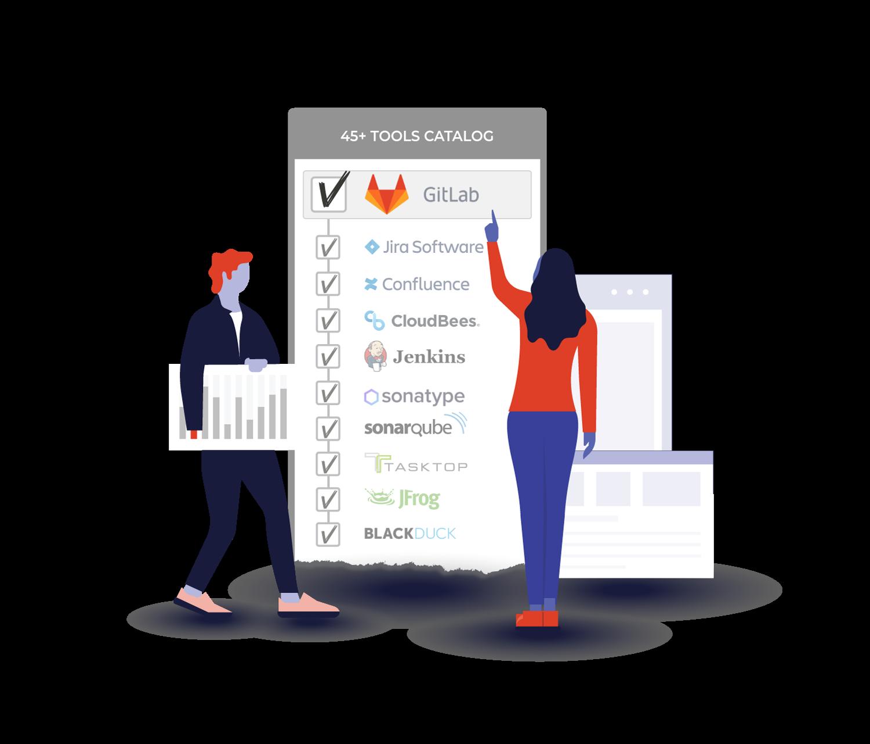 GitLab Tools Catalog Graphic